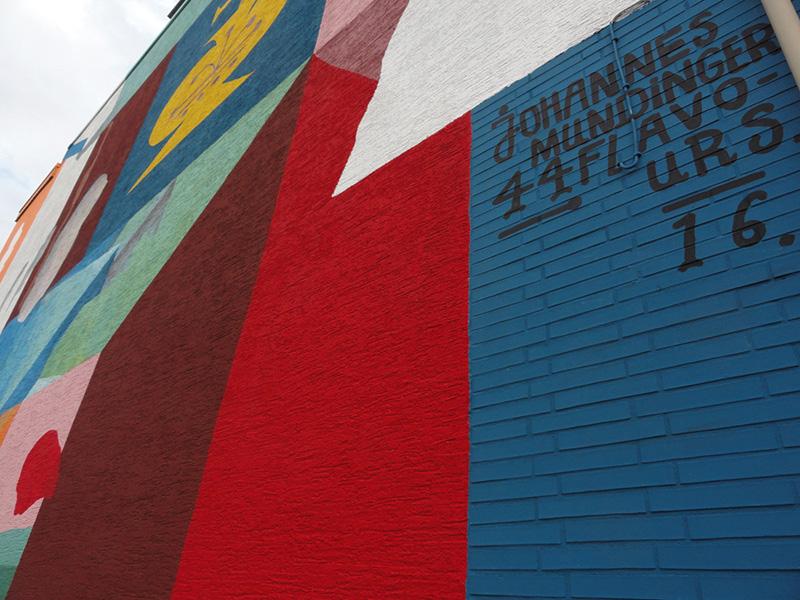 Johannes Mundinger x 44 Flavours - New Mural in Hamm