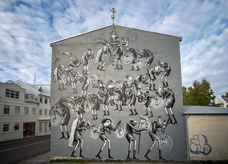 phlegm-new-mural-reykjavik-iceland-01