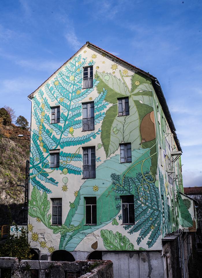 DOA - New Mural in Galicia, Spain