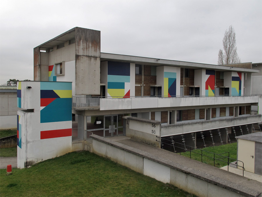 Eltono - New Mural in Chaumont, France