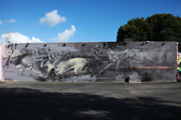 Faith47 – New Mural in Wynwood, Miami
