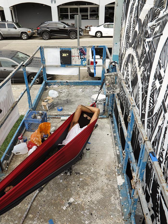 Knarf - New Mural in Miami