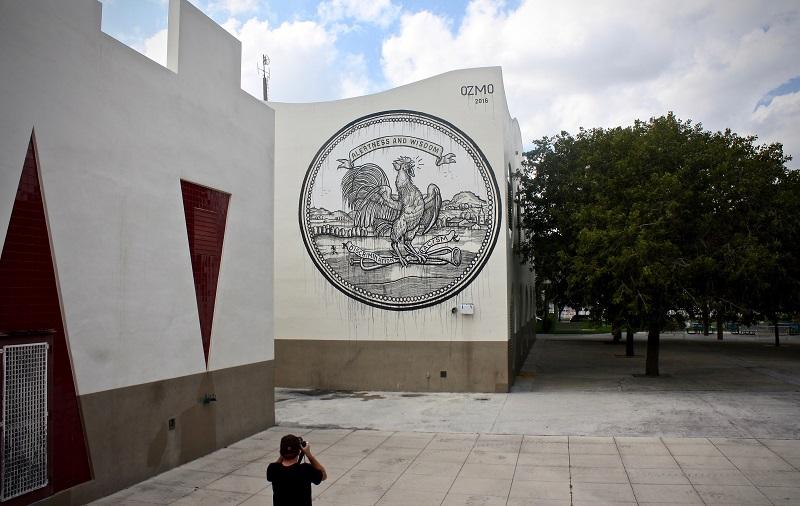 Ozmo R.A.W. Project Wynwood Miami