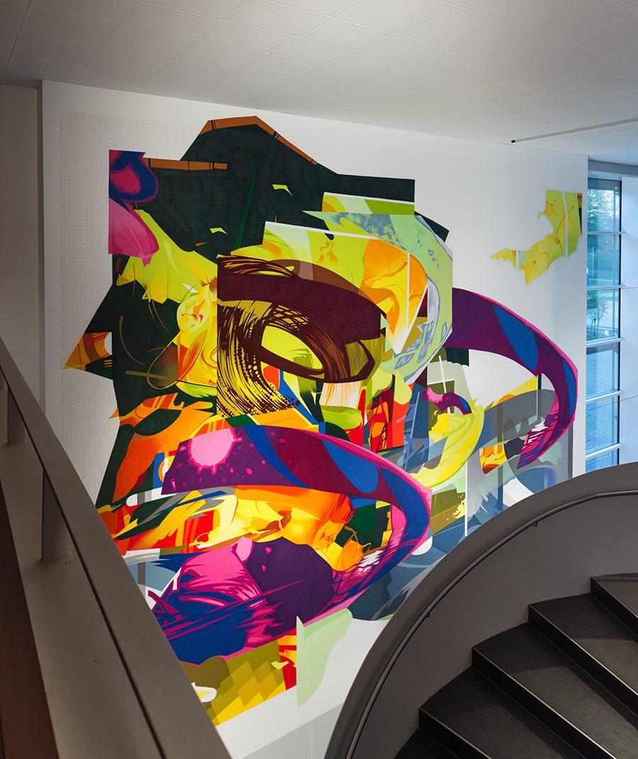 SatOne - New Mural in Kirchseeon, Germany