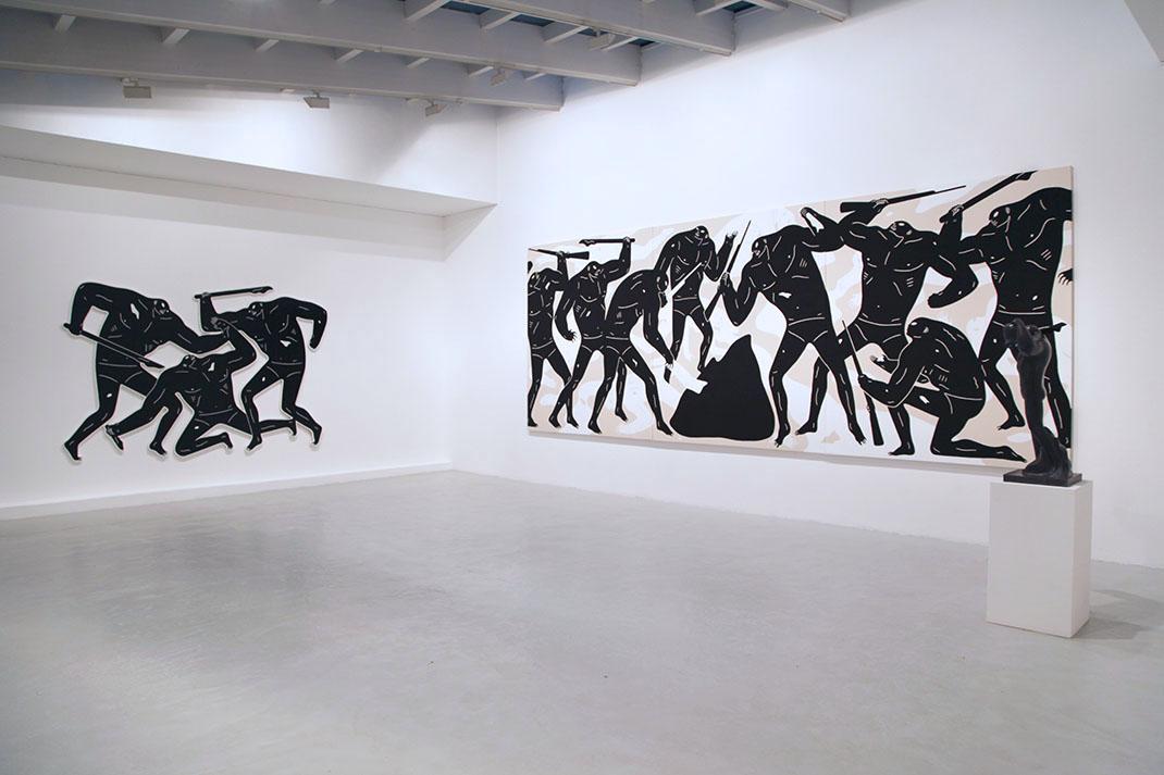 Cleon peterson Victory show Galerie Du Jour