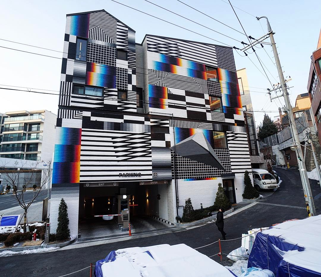 Felipe Pantone Seoul South Korea
