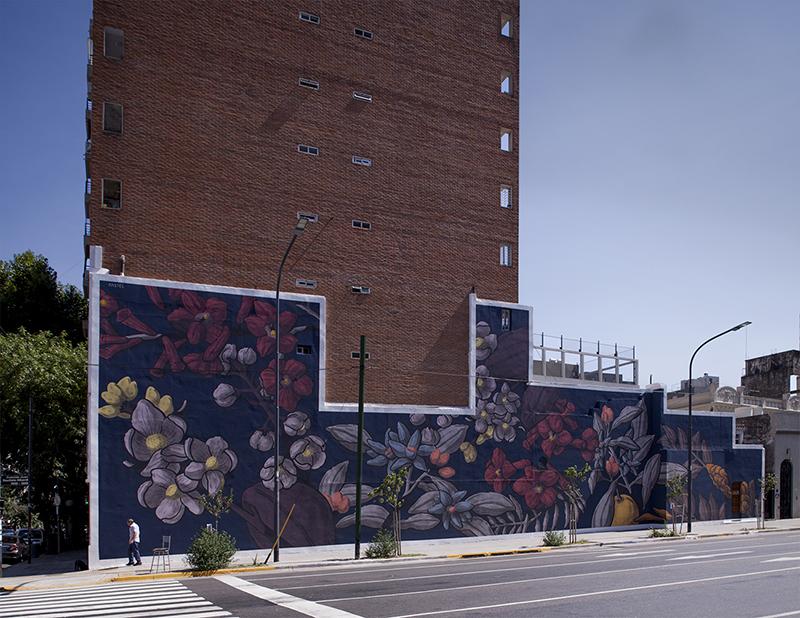 Pastel Barrio Flores, Buenos Aires