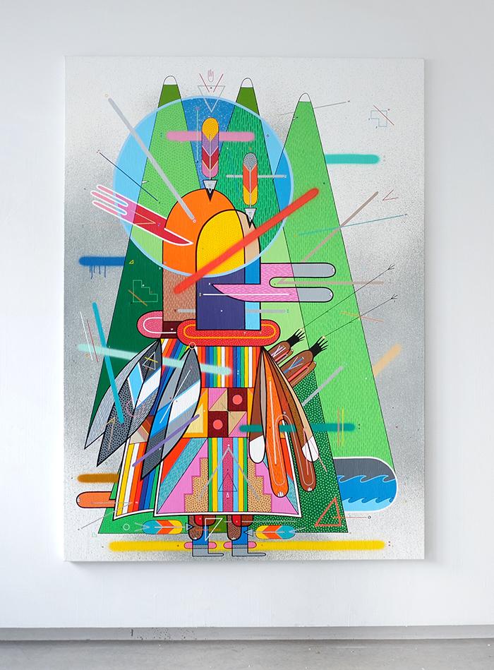 Sixe Paredes El Espíritu de la Montaña Alice Gallery