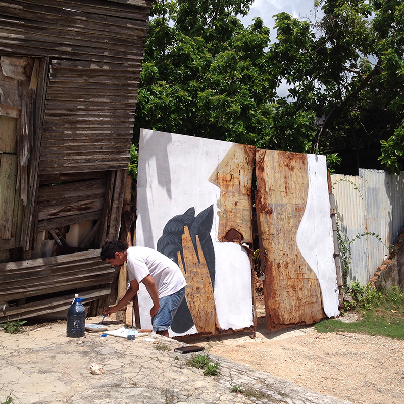 wesr mural