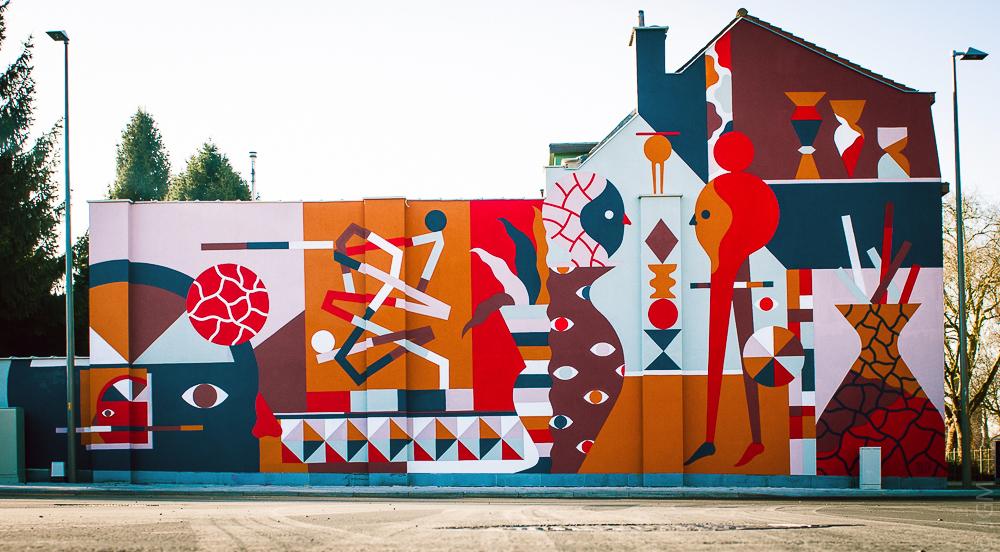 Hell'O Vilvoorde street art