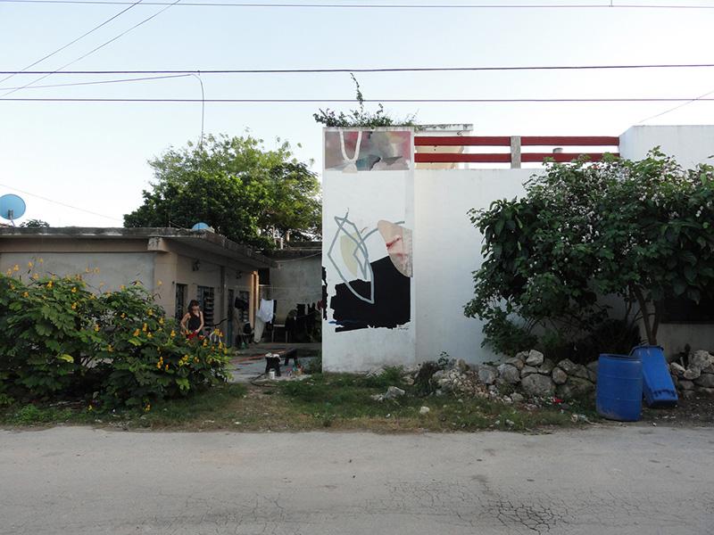 Johannes Mundinger BLO murals Tulum Mexico