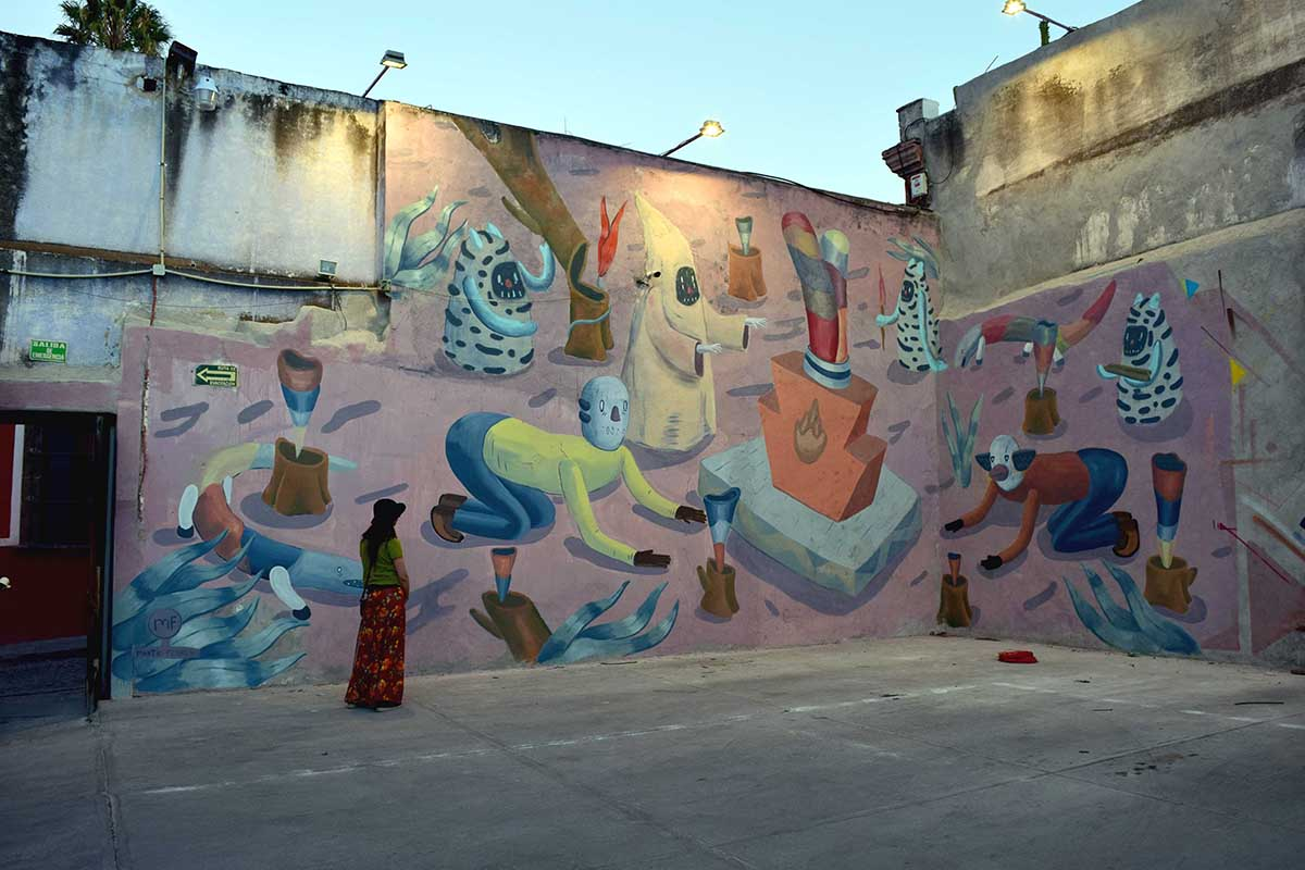 Martin Ferreyra San Miguel de Allende Muros en Blanco