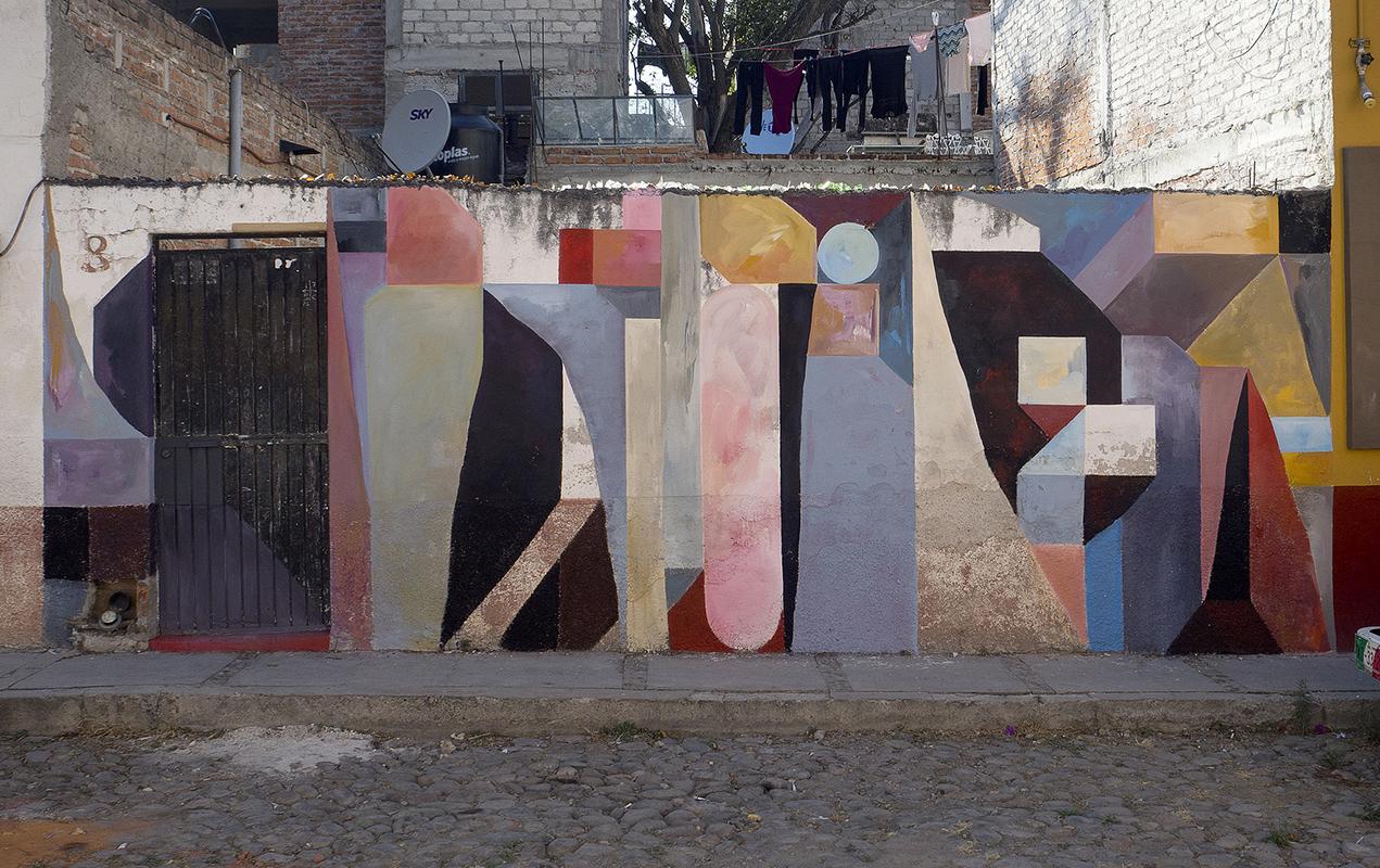 Nelio San Miguel de Allende Mexico Muros en Blanco