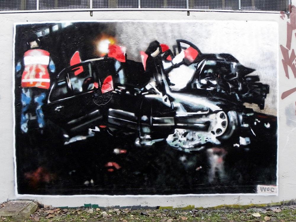 WOC street art murals