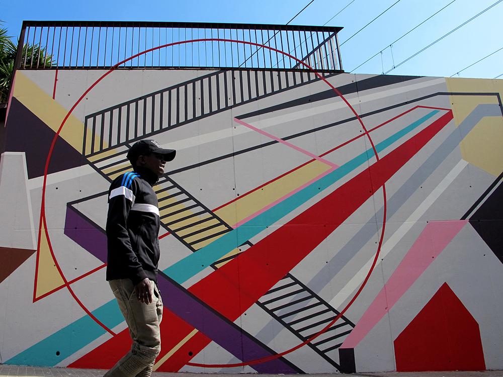 Elbi Elem L'Hospitalet Street Art