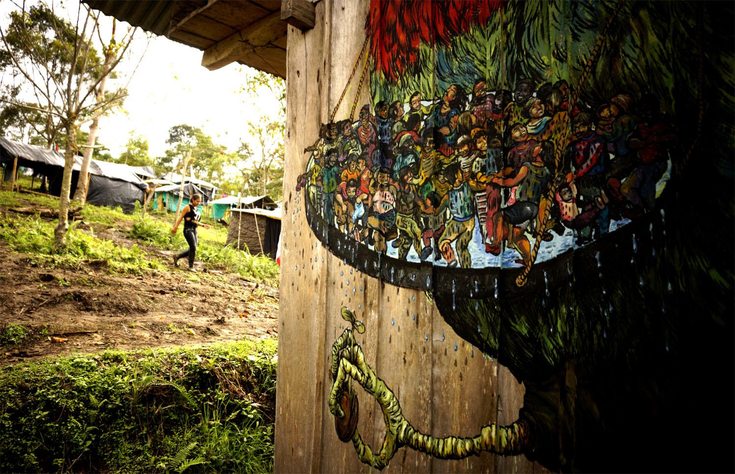 Ericailcane Bastardilla Zona Veredal de Paz, Icononzo, Colombia