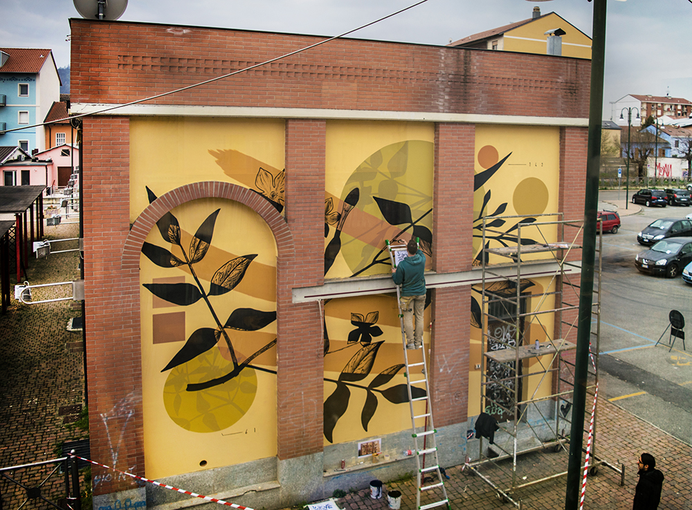 Fabio Petani Chivasso street art Urban Art Field