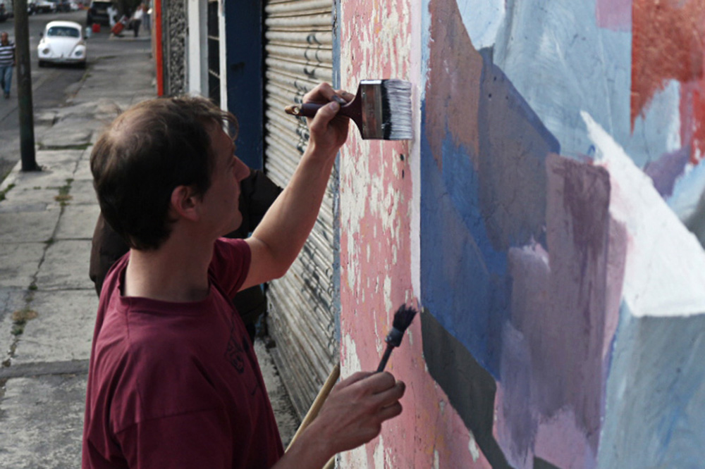 Johannes Mundinger street art mexico