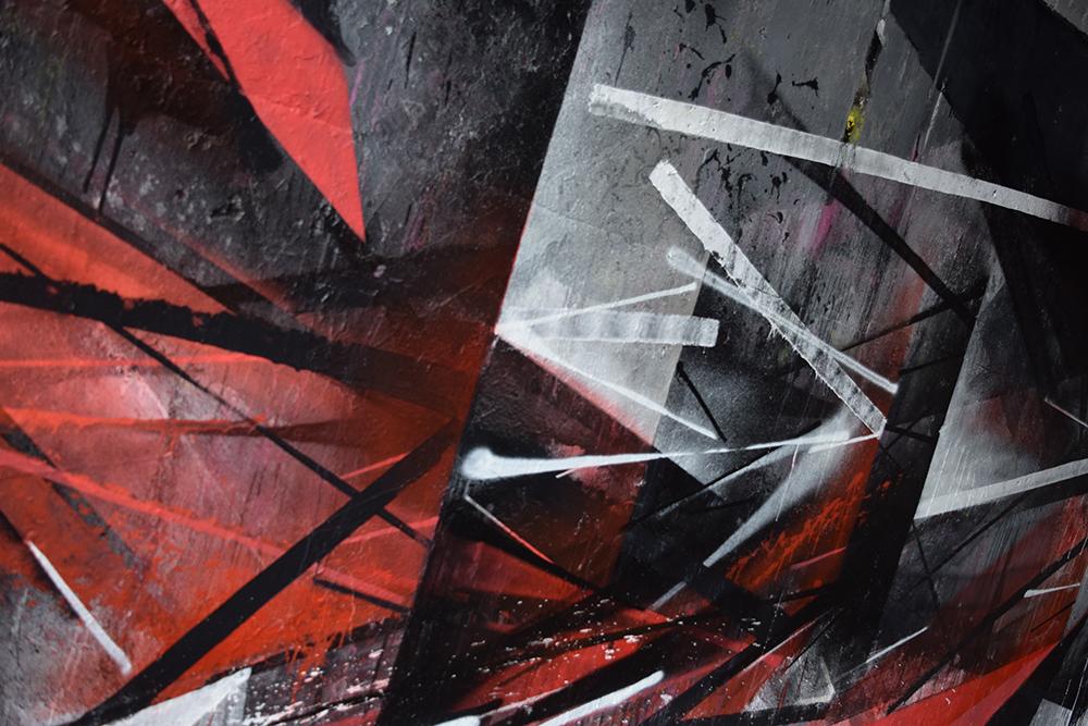 Pener graffiti street art Olsztyn