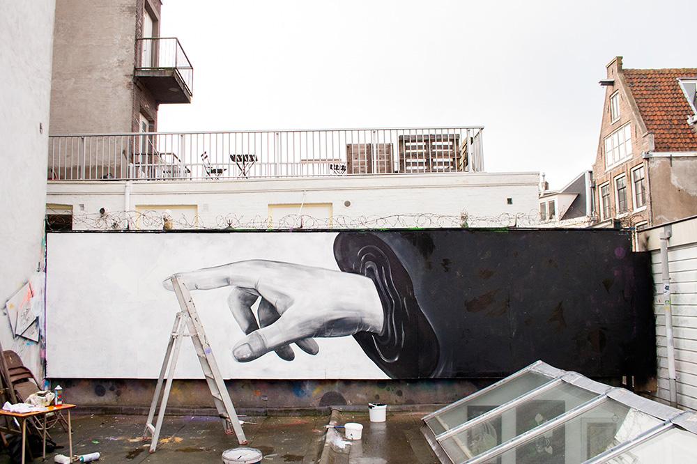 Skount Street Art Amsterdam