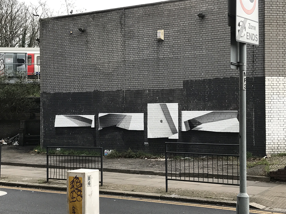 Soda graffiti Willesden Green, London