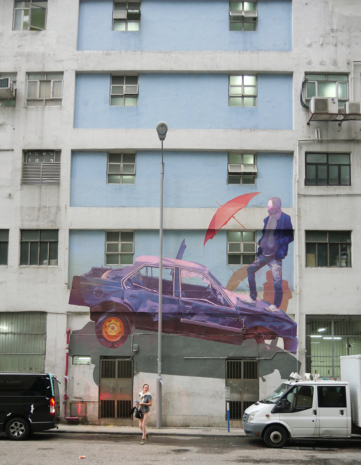 Zoer street art Hong Kong HK Walls