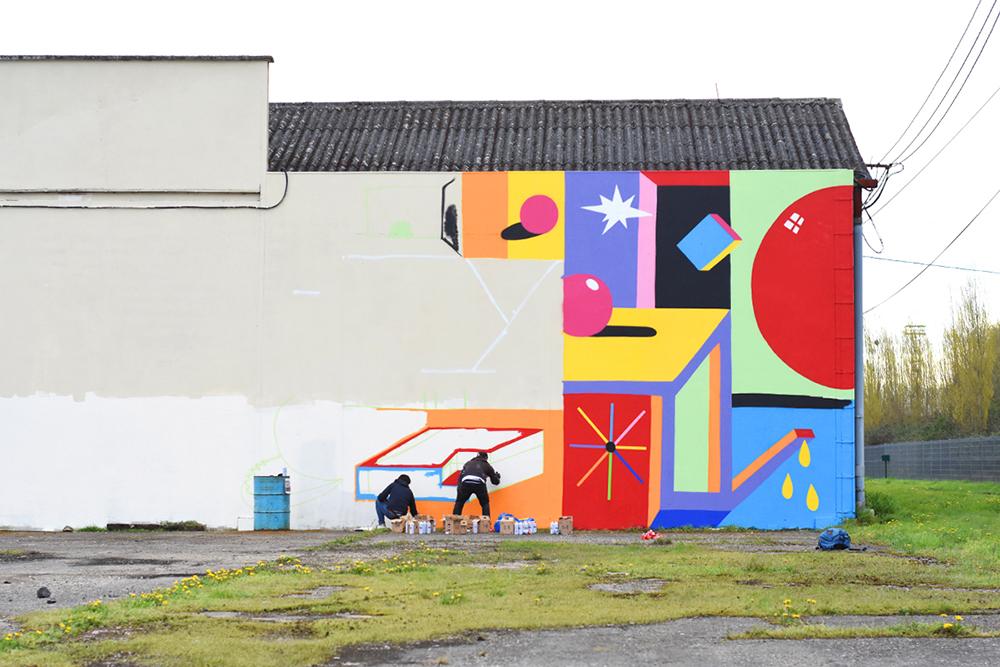 2SHY Street Art Palma Festival Caen