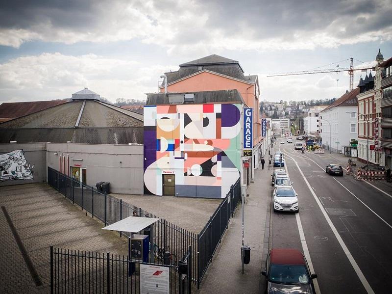 Alexey Luka Street ArtArtwalk Saarbrücken