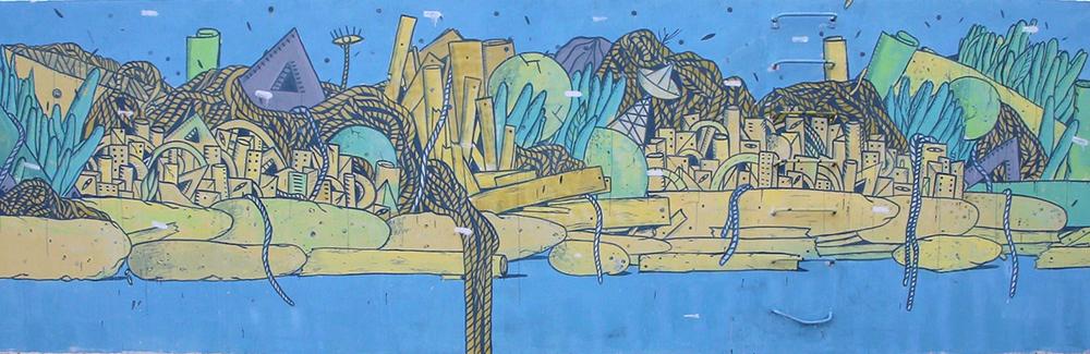 Crisa Street Art Vedo a Colori Civitanova Marche