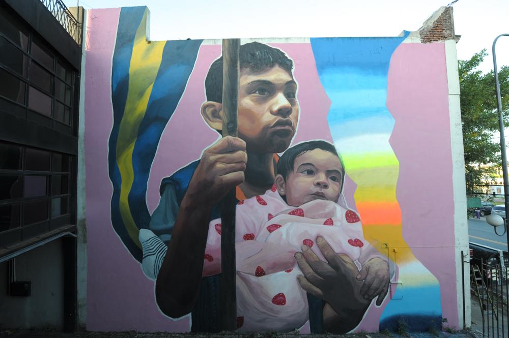 Ever Street Art La Boca Color BA Buenos Aires