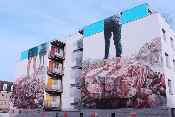 Fintan Magee Street Art Nuart Aberdeen