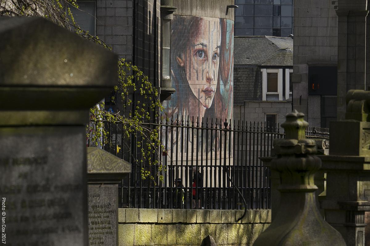 Herakut Street Art Aberdeen Nuart Festival