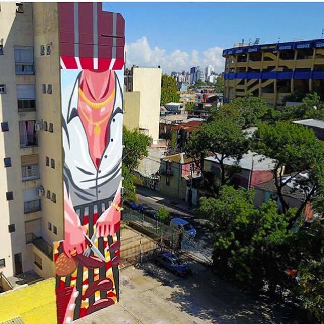 JAZ Street Art Color Ba La Boca Buenos Aires