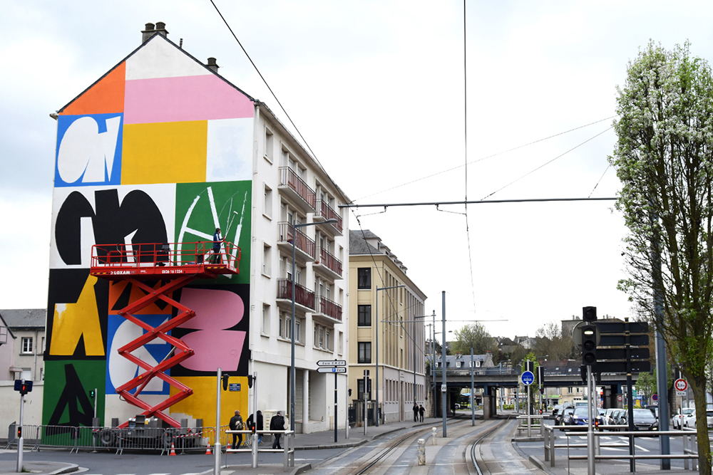 Jeroen Erosie Street Art Palma Festival Caen