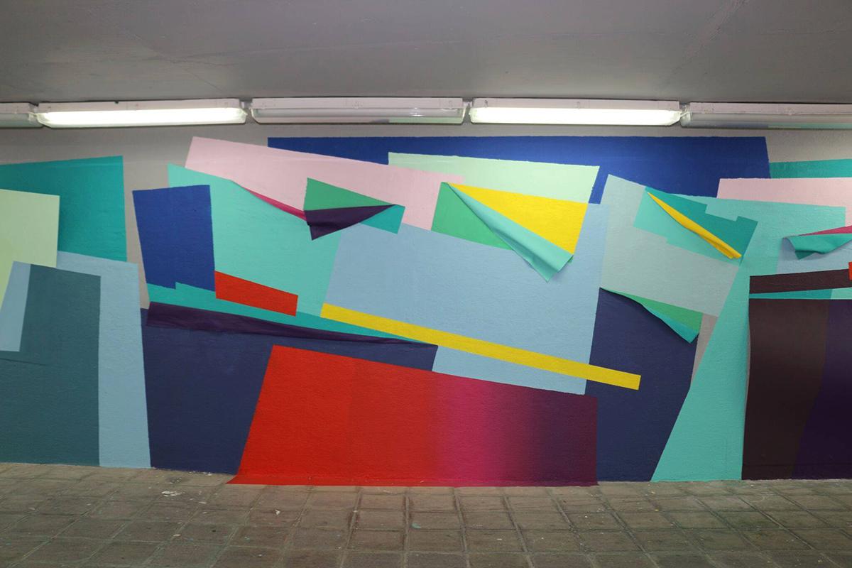 Nuria Mora Street Art Monterrey Programa de Arte Público del DistritoTec