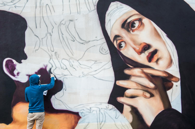 Ravo street art Gaeta Memorie Urbane 2017