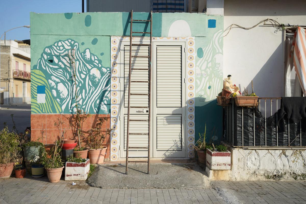 Tellas Street Art TRANSUMARE Sicily