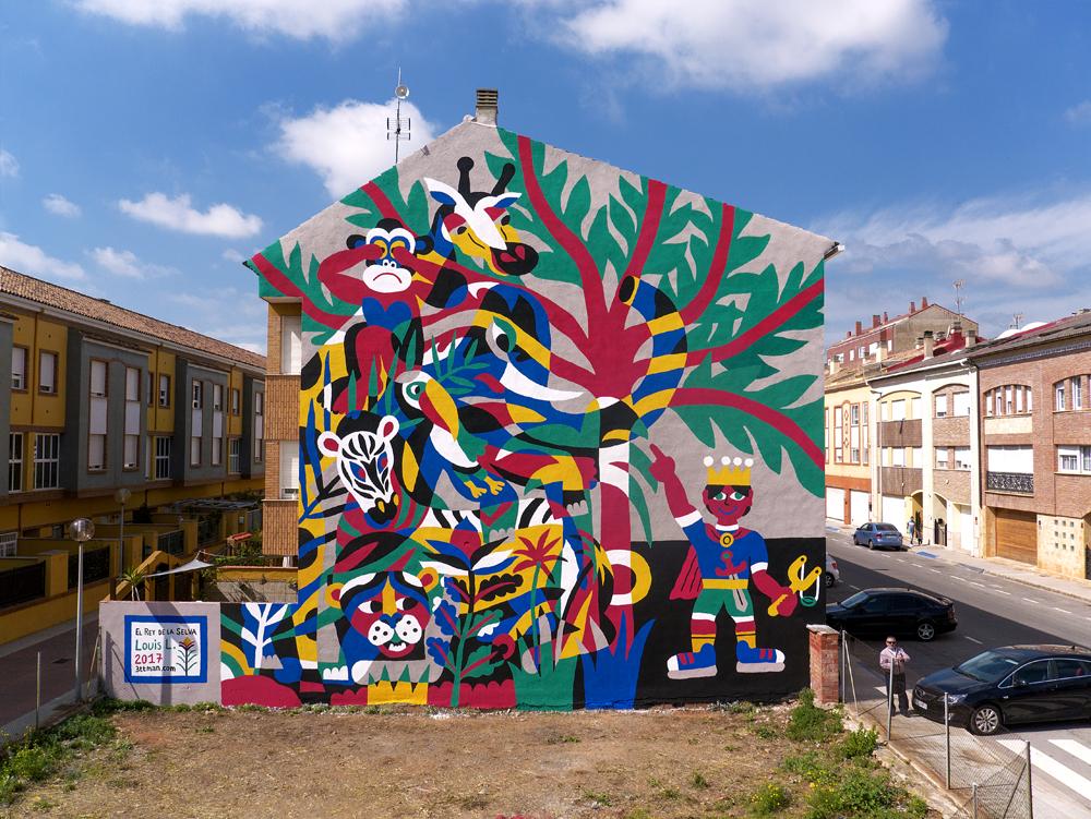 3ttman Street Art Vila-Real TEST Festival