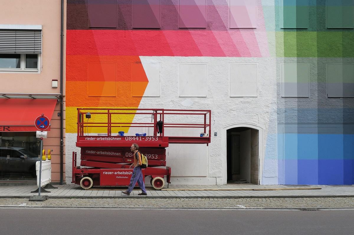 Alberonero Street Art Pfaffenhofen