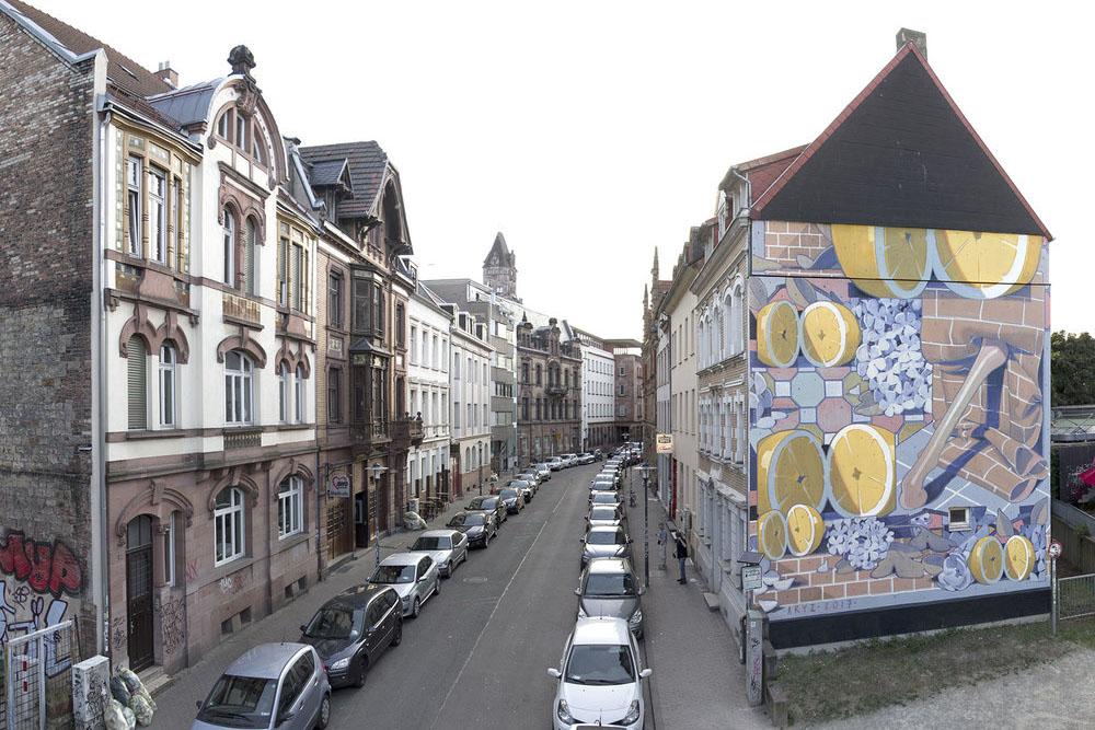 Aryz street art Artwalk – Saarbrücken