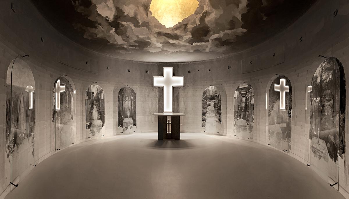 Borondo Cenere Cimitero Selci