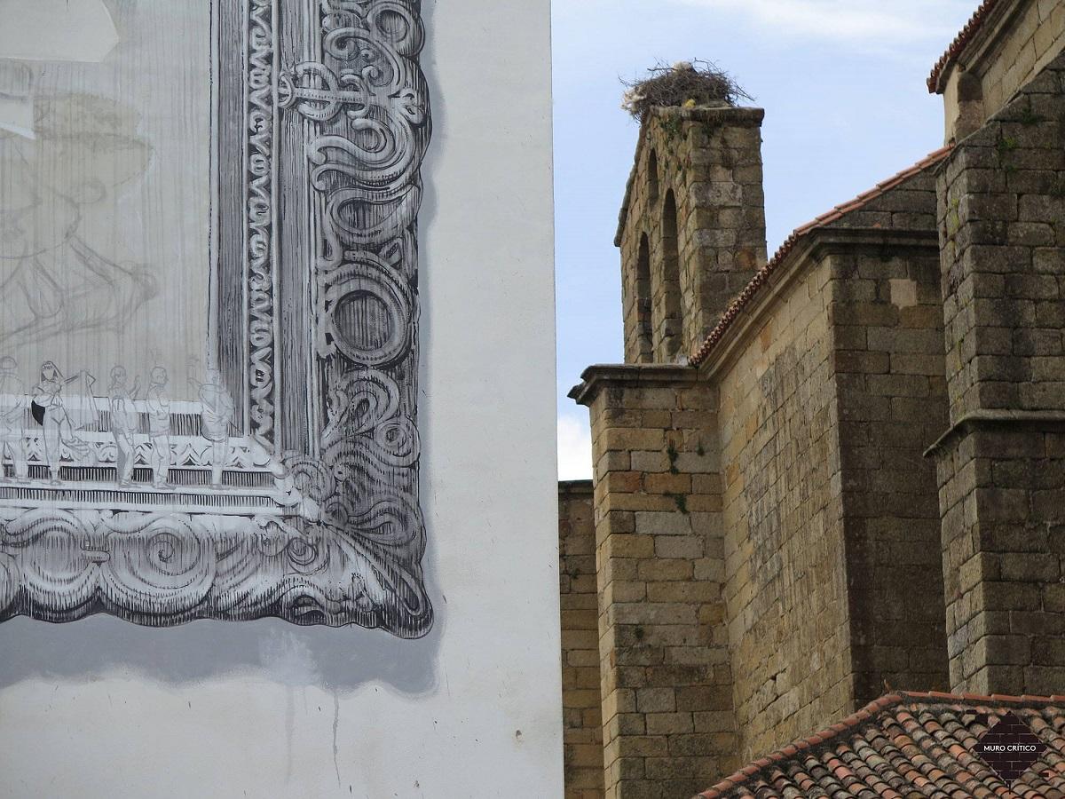 Daniel Muñoz SAN Street Art Pozuelo de Zarzón Spain