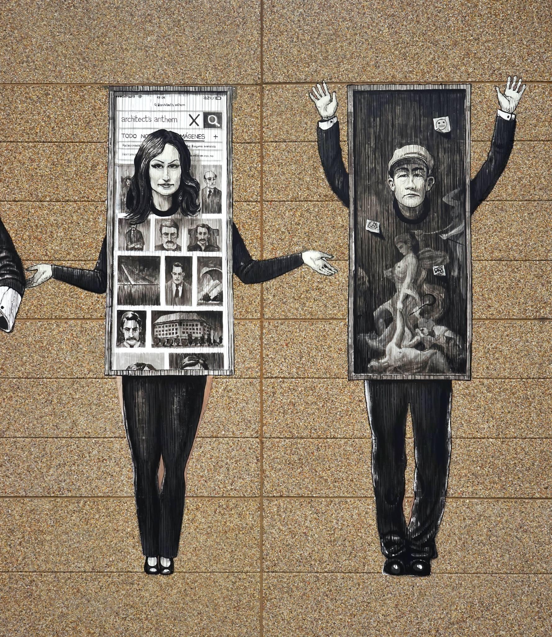 Daniel Muñoz SAN street art Palibex Madrid