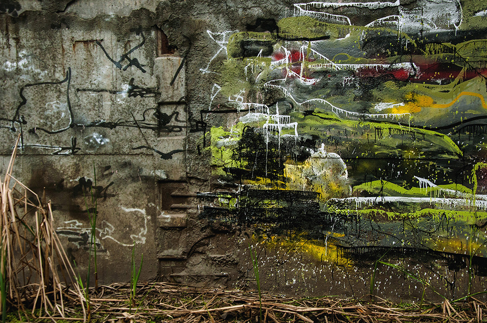 EAS graffiti Street Art