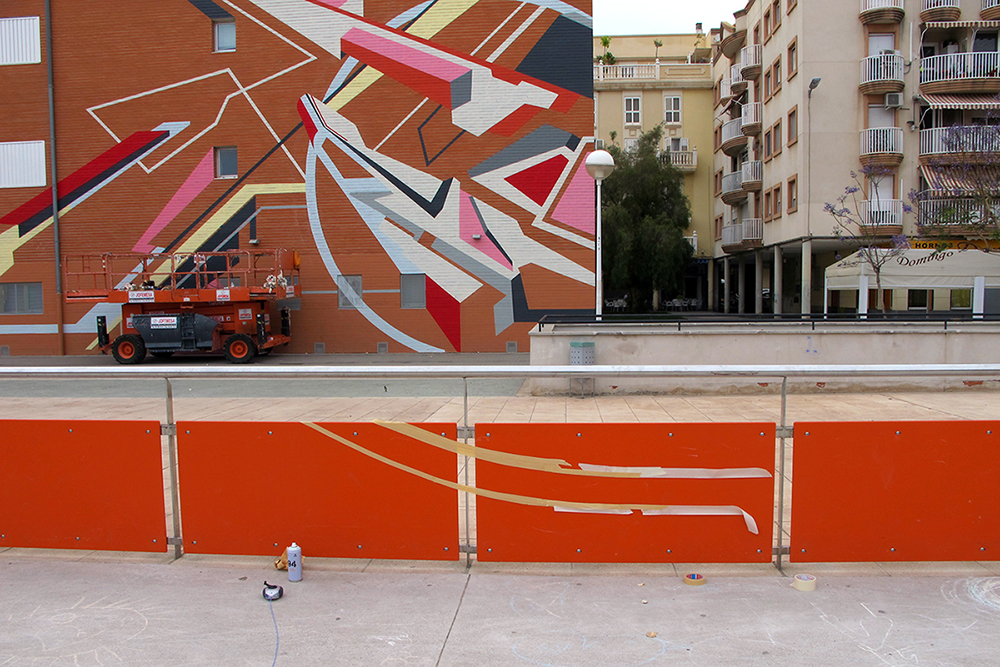 Elbi Elem Street Art Puerto de Sagunto, Valencia