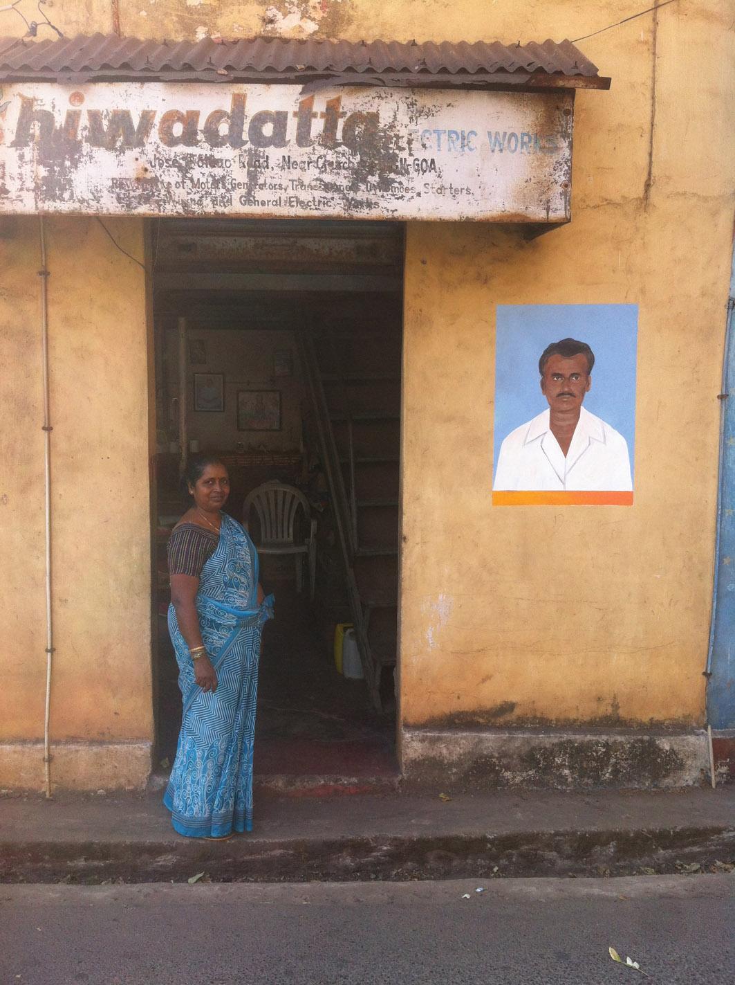 Escif Street Art Panjim India