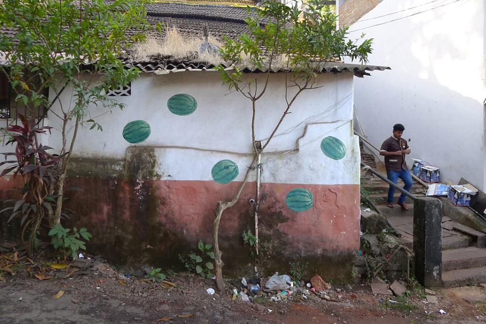 Escif Street Art Panjim, India