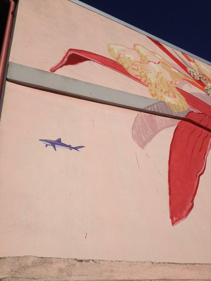 Hitnes Street art Masullas Sardegna