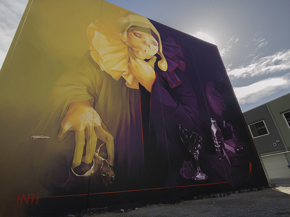 INTI Street Art Adelaide Australia Wonderwalls Festival