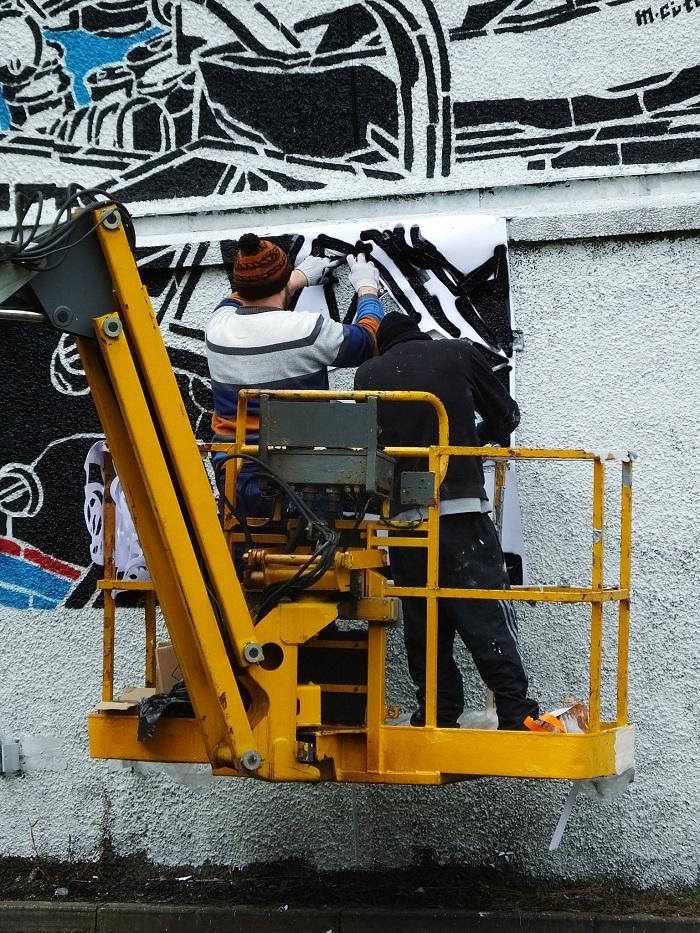 M-City Street Art NUART Aberdeen